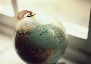 earth globe on Tumblr