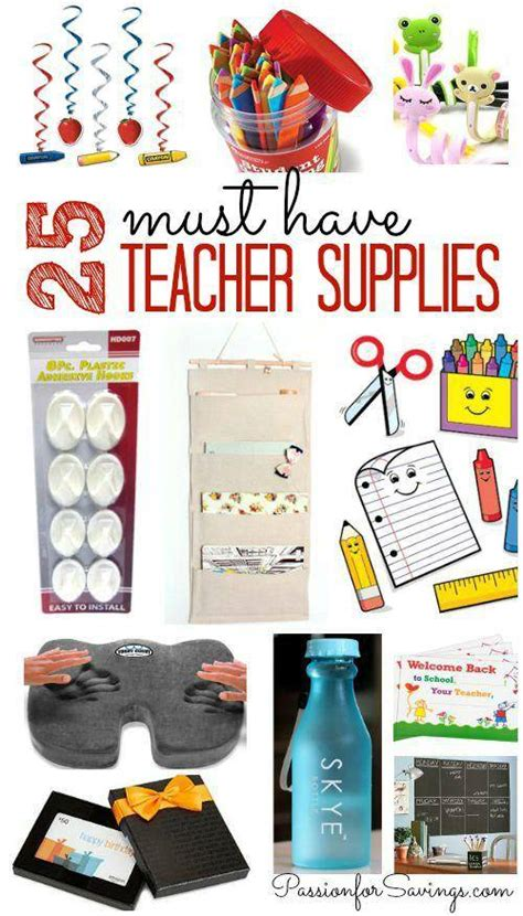 25 must items for back to school