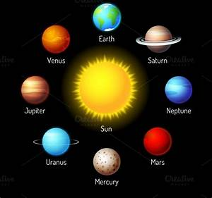 planets ~ Icons on Creative Market