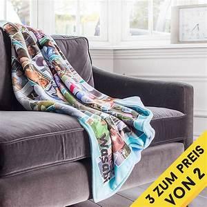 Kissenbezug Selbst Gestalten : fotodecke personalisierte decke mit fotos 10 jahre garantie ~ Frokenaadalensverden.com Haus und Dekorationen
