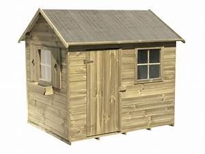 Cabane De Jardin Enfant : cabane enfant bois libellule 58642 ~ Farleysfitness.com Idées de Décoration