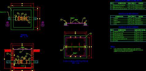 Masonry Camera For Valves 150mm Dwg Block For Autocad