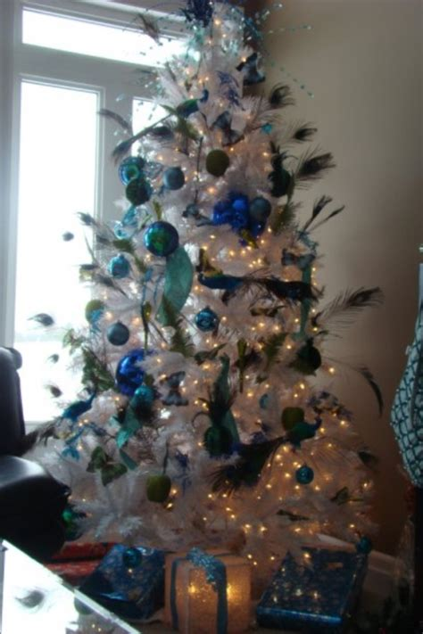 25 peacock christmas tree decorations ideas magment