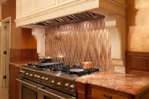 small kitchen ideas modern 20 copper backsplash ideas that add glitter and glam to
