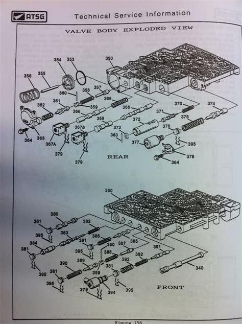 4l80e Valve Diagram by 4l60e Valve Diagram Wiring Diagram