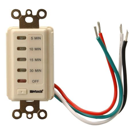 christmas light timer home depot woods 30 minute automatic wall switch timer light almond