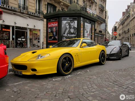 The grand tourer was introduced at the nurburgring track in germany in july 1996 and was discontinued in 2001, after a production run. Ferrari 575 M Maranello - 18 January 2014 - Autogespot