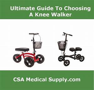 The Ultimate Guide To Choosing A Knee Walker