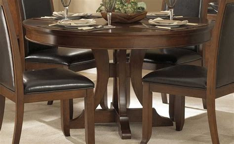 54 square dining table homelegance avalon pedestal dining table 1205 54 3925