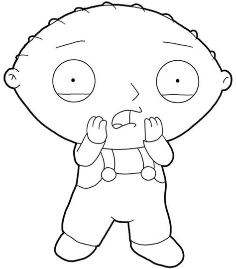 gangster stewie coloring pages coloring pages arsip tembi net