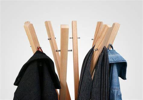 Designer Garderobe Aus Holz