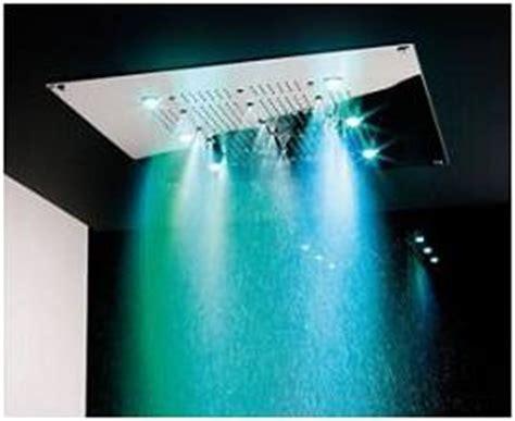 soffioni doccia cromoterapia prezzi doccia con cromoterapia boiserie in ceramica per bagno