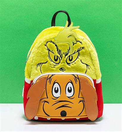 Grinch Cosplay Backpack Loungefly Flap Ts Wallet