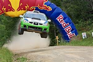 Red Bull Rally Car Jump