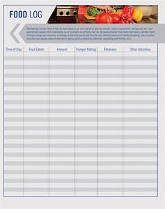 Reference List Template Word 6 Food Log Sheet Templates Track Your Diet Pdf Word
