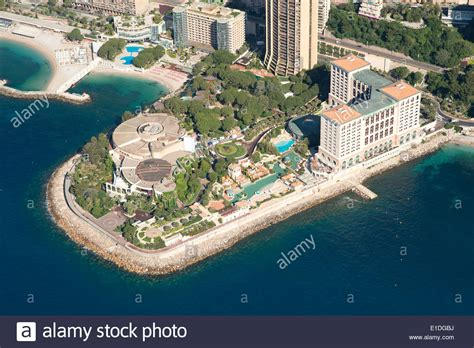 monte carlo bay hotel resort monte carlo bay hotel and resort built on reclaimed land aerial stock photo royalty free