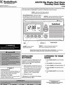 Radio Shack 12 220 Users Manual Radioshack With In Line