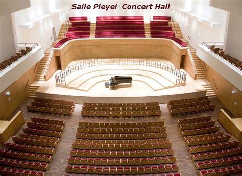 ベルリンフィルやロンドン交響楽団など 超一流 一流のコンサート会場となっている salle pleyel 部屋 プレイエル です