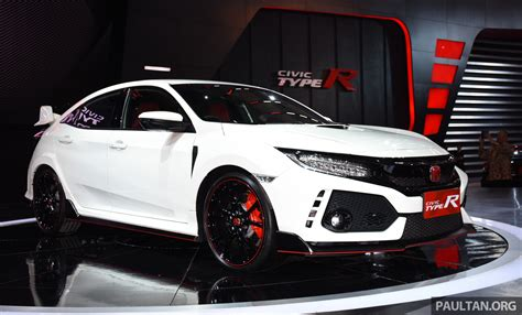 honda indonesia honda civic type r launched in indonesia rm320k