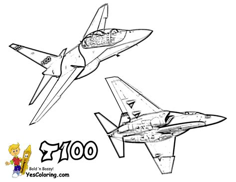 jet plane coloring pages ferocious fighter jet planes