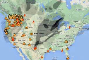 Wildfire Smoke Map August 2015