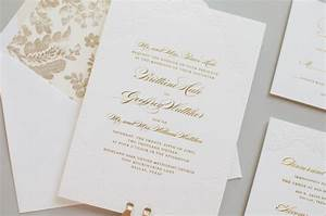 gold foil and lace wedding invitations With wedding invitations with gold wording