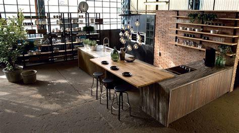 meuble central cuisine cuisine bois top cuisine