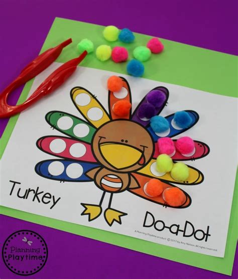 thanksgiving theme preschool planning playtime 434 | Fun Turkey Activities for Preschool November and Thanksgiving Themed Unit
