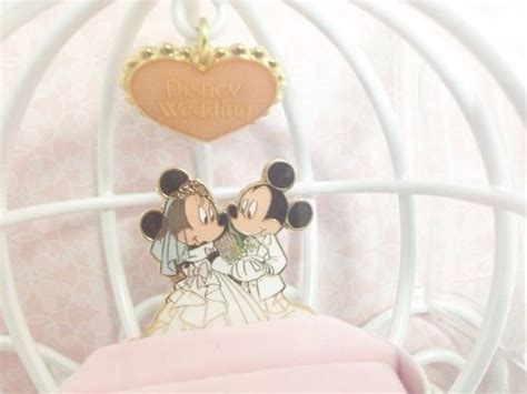 new mickey mouse and minnie wedding ring pillow tokyo disney resort from japan ebay