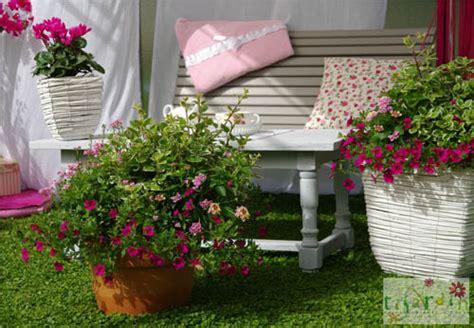 terrasse fleurie hiver