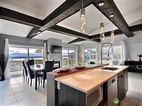 salon et cuisine aire ouverte excellent cuisine moderne ouverte sur salon condo a vendre