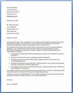 proper executive cover letter examples letter format writing With best cover letter for executive director position