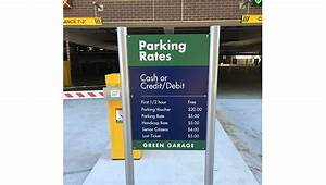 Gelberg Signs provides custom parking and garage signs