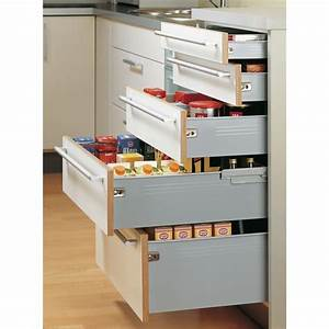 Tiroir Coulissant Cuisine : kit tiroir multitech hauteur 86 mm coulisse galets ~ Premium-room.com Idées de Décoration
