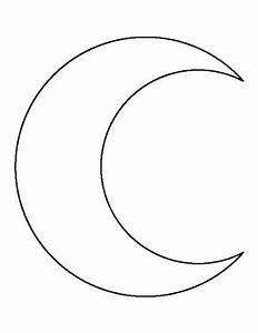 Crescent Moon Face Outline | www.pixshark.com - Images ...