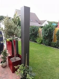 Paravent 2m Hoch : sichtschutz ends ule 2 2 m x 0 2 x 0 2 m lackiert mit schutzfolie ~ Indierocktalk.com Haus und Dekorationen