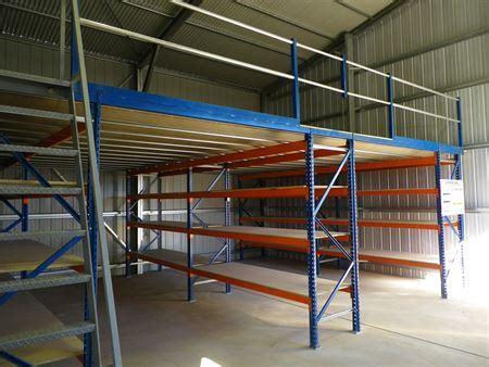 pallet racking supported mezzanine storeplan