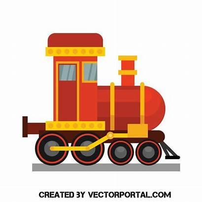 Train Clip Vector Toy Trains Locomotive Vectorportal