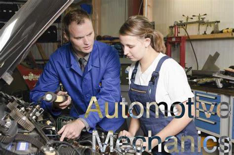 Different Types Of Mechanics Careers