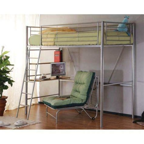 Metal Bunk Bed With Desk by Metal Bunk Bed With Desk Ebay