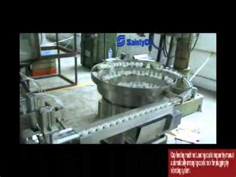 Present your design on this mockup. Saintyco Automatic Effervescent Tablet Tube Filler - YouTube