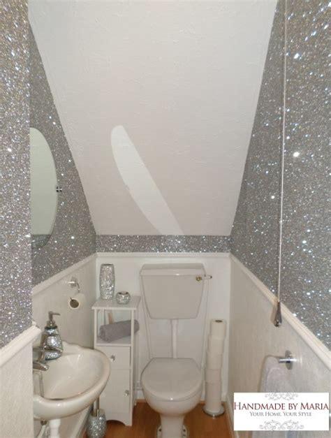 glitter wallpaper handmade by
