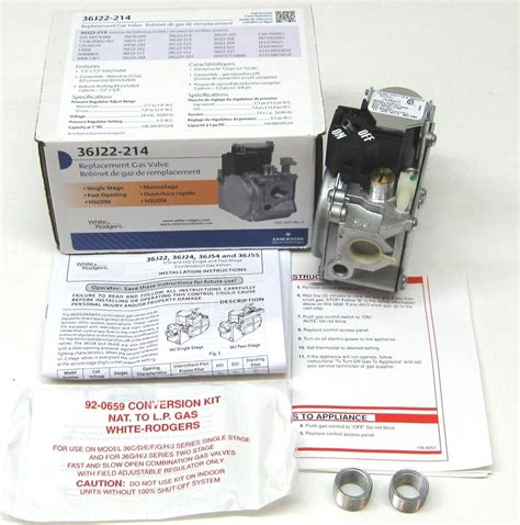 White Rodgers Gas Heating Furnace Valve For