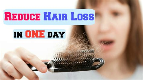 How To Reduce Hair Loss In One Day 2015 Youtube