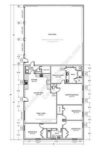 Shop House Floor Plans by 25 Best Ideas About Pole Barn Plans On Barn