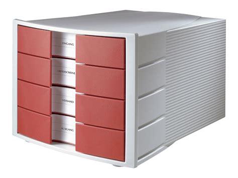 bloc de classement bureau han impuls bloc de classement 224 tiroirs 4 tiroirs