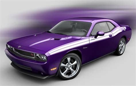 Plum Purple Challenger by Dodge Challenger Goes Plum Purple For 2010