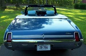 Oldsmobile Cutlass Convertible 1969 Trophy Blue For Sale