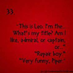 1000+ images ab... Piper And Leo Quotes