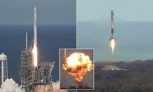 SpaceX launches its first recycled cargo ship and marks ...